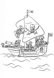 Disegno Di Galeone Dei Pirati Lego Da Colorare Disegni Da Colorare