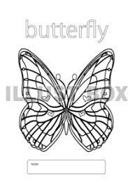 無料イラスト Butterflyぬりえ ちょうちょ