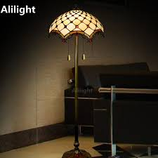 Tiffany Luxury Floor Lamp Retro Floor Light For Living Room Bedroom