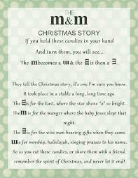 Just make the family game and attache m&ms and the christmas poem. The M M Christmas Story Over 8 Free Printables Printables 4 Mom