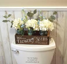 diy bathroom decor ideas antique sewing turned seedbox bathroom display cool do it yourself