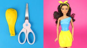 diy barbie clothes with balloons making simple no sew garments for barbies inventive enjoyable for youngsters top life s