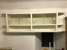 vintage retro kitchen wall cabinet with