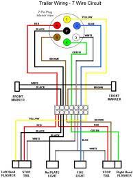 plug trailer wiring diagram image wiring diagram 6 way round trailer wiring diagram wiring diagram and hernes on 4 plug trailer wiring diagram