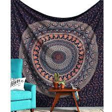 wall rugs bohemian mandala tapestry hanging sandy beach picnic throw rug blanket camping tent travel carpet