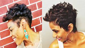 Short Hair Style For Black Women adorable short hairstyles for african american women youtube 2065 by wearticles.com