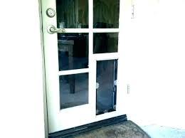cat sliding door cat door home depot door with cat door built in cat door exterior