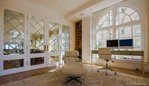 modern private home office. pacific heights private multimillion dollar condo san francisco california modernhome modern home office m
