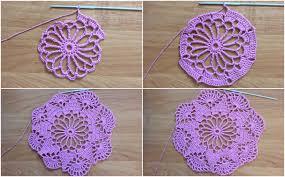 Free Crochet Designs For Beginners Easy To Make Doily Free Crochet Pattern Yarn Hooks