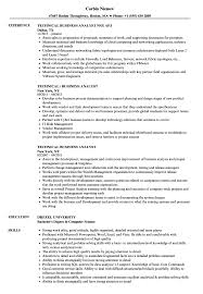 Product Analyst Resume Sample Technical Business Analyst Resume Samples Velvet Jobs 15