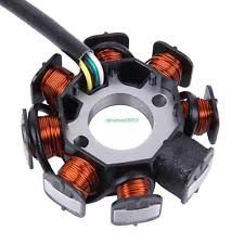 gy6 stator parts accessories gy6 50 110cc 150cc ignition stator magneto 8 coil scooter moped atv taotao jcl