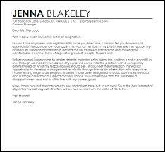 Job Resignation Letter Sample Template Stunning Not A Good Fit Resignation Letter Example Letter Samples Templates