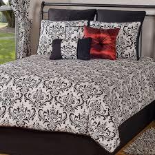 damask bedding white comforter