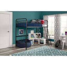 better homes and gardens kelsey twin metal loft bed 4095029we