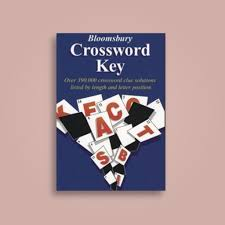 bloomsbury crossword key over 390 000 crossword clue solutions listed by length and letter position