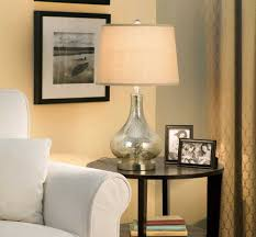 image of round glass table lamps for living room