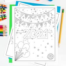 Explore 623989 free printable coloring pages for your kids and adults. Celebrate New Year S With This Free New Years Coloring Pages 2021