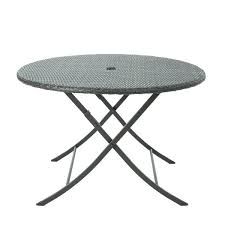 folding accent table wicker folding table wicker accent table foldable wicker accent table in brown