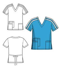 Scrub Top Patterns Extraordinary Fit Me Patterns Customfit Patterns Introducing Scrubs
