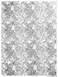 Small Picture Adult Plenty Birds Complex Coloring Coloring Pages Printable