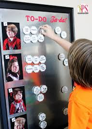 Magnetic Chore Chart For Kids