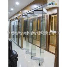folding office partitions. Luxury Frameless Double Glass Folding Door Office Partition Sliding Partitions