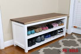Image Cubby Diy Shoe Storage Bench For Entryway Fix This Build That Diy Entryway Shoe Storage Bench Fixthisbuildthat