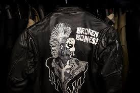 underground cachet a vintage leather jacket