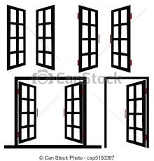 Half open door drawing Doorway Window And Door Black Illustration Vectors Illustration Search Clipartimagecom Open Window Clipart Black And White Clip Art Images 10514