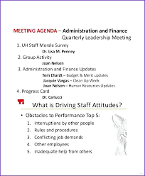 Team Meeting Agenda Ideas Good Best Staff Topics – Mstaml