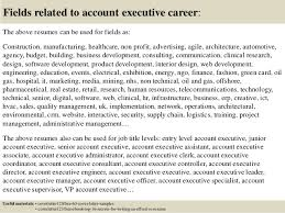 Account Executive Cover Letter Samples Top 5 Account Executive Cover Letter Samples