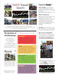 here for your free pdf tip sheet the business of art works paint travel teach