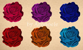 aronoele sims flower shaped rugs in many bright colours flower shaped rug