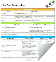 simple one page business plan template one page business proposal template simple one page business