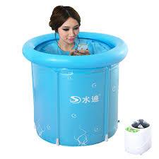 bathtubs 3 size option multi function inflatable steam room bath barrel bathtub folding