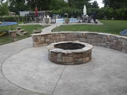 stamped concrete patio with fire pit cost. Plain Patio Stamped Concrete Patio Cost Awesome Backyard And Firepits Fire Pits  For Sale Inspirational Of Stamped Related Post Intended With Pit M