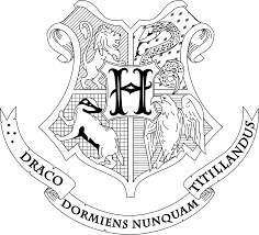 Hogwarts Crest Coloring Page | Harry Potter and Fantastic Beasts and ...