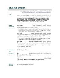 New Grad Nursing Resume Skills Nursing Student Resume Examples New