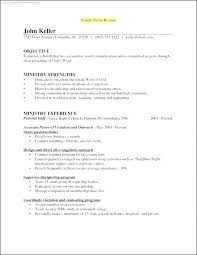 Sample Pastoral Resume Cool Resume For Pastor Position Sample Ministry Resume Sample Pastoral