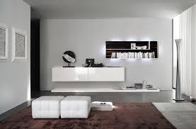 Wohnzimmer Modern Weiss Wohnwand