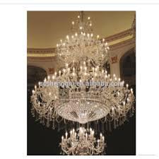 villa duplex living room european style crystal chandelier hotel lobby