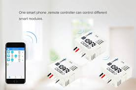 wifi smart light switch module use existing switch no neutral required at switch co uk diy tools