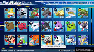 Digimon Cyber Sleuth Hacker S Memory Digivolution Chart Field Guide Complete Digimon Hackers Memory