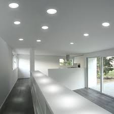 recessed lighting fixtures inside