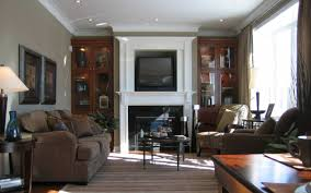 Living Room With Fireplace Decorating Lovely Decorating Living Room With Fireplace And Tv 35 With