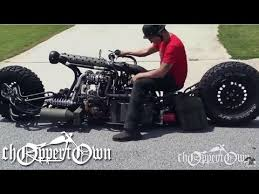 twin turbo diesel awd motorcycle bike builder episode 2 youtube