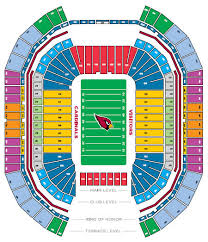 Arizona Cardinals Stadium Seating Chart