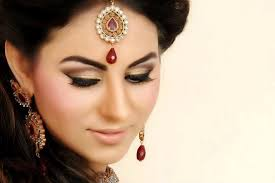 bridal makeup simple brown gold neutral