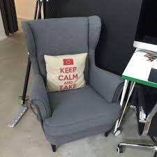 ikea strandmon wing chair sofa everything must go furniture on carou