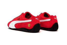 Scuderia ferrari race men's xtg crewneck sweatshirt 194578540249. Ferrari X Puma Speedcat Rosso Corsa Puma Black Hypebeast